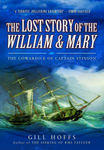 The Lost Story of the William&Mary - Gill Hoffs - hi res image