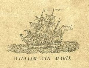 William and Mary - Lotgevallen van den heer O.H.Bonnema, 1853, used with kind permission of Collectie Tresoar.